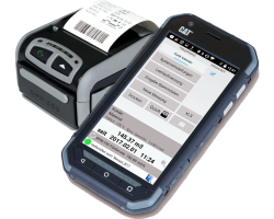 Mobile Devices for Optical Beltscale EHS