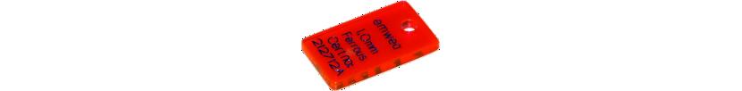 Testanhänger für Metallsuchgeräte aus PMMA (Acryl)