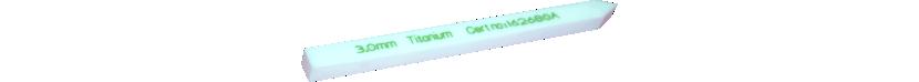 Testdorn für Metallsuchgeräte aus PTFE (Teflon®)