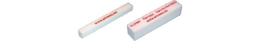 Teststäbe für Metallsuchgeräte aus PTFE (Teflon®)